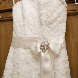 Maggie Sottero wedding gown.